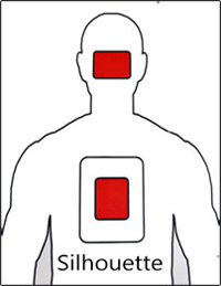 photograph relating to Silhouette Targets Printable known as Aims